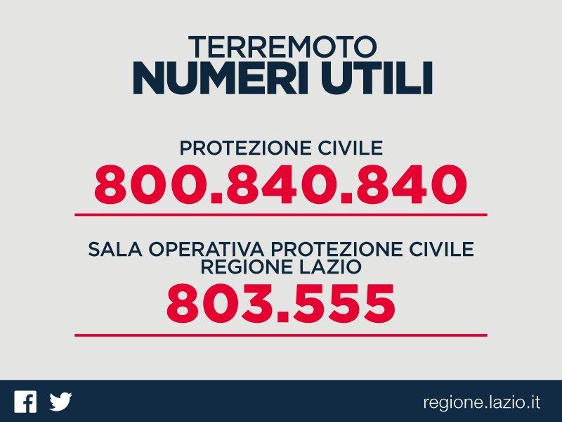 terremoto_numeri_utili