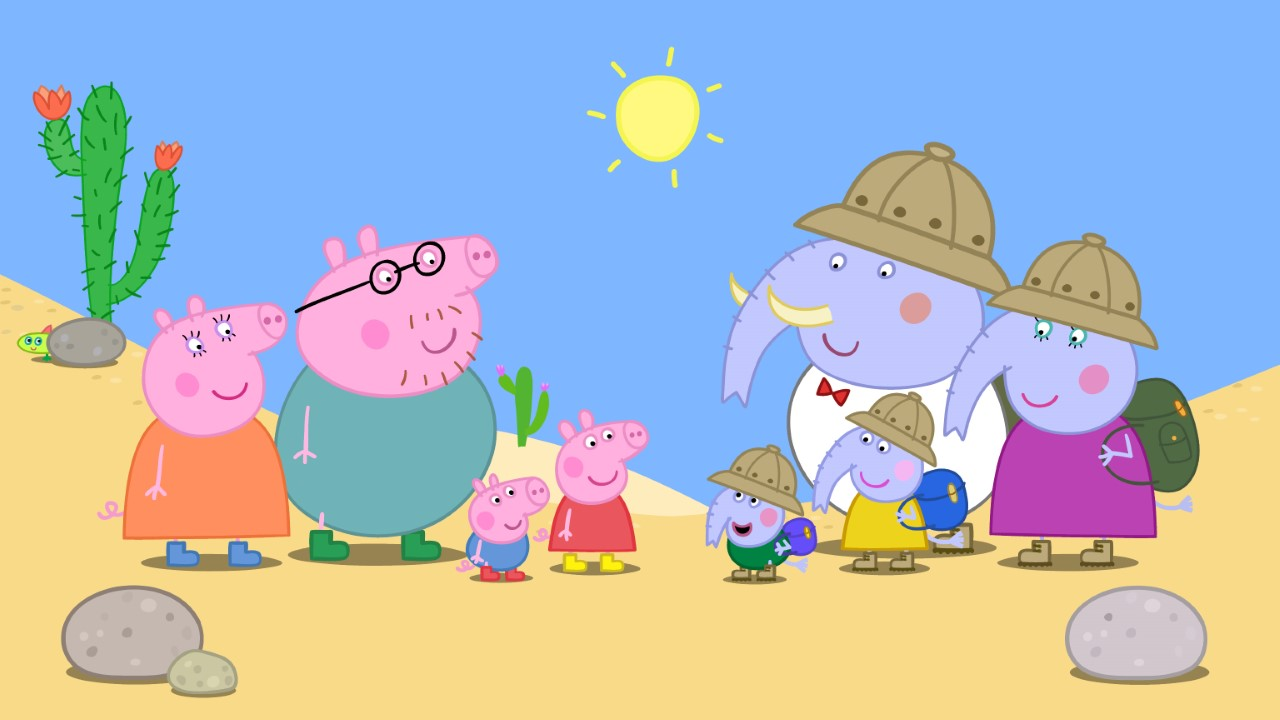 peppa pig al cinema