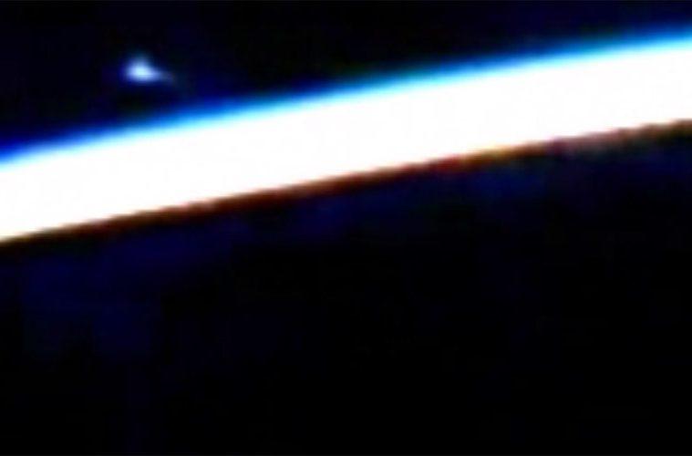 ufo avvistato dalla iss
