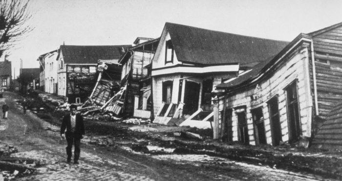 Grande terremoto del Cile - Valdivia
