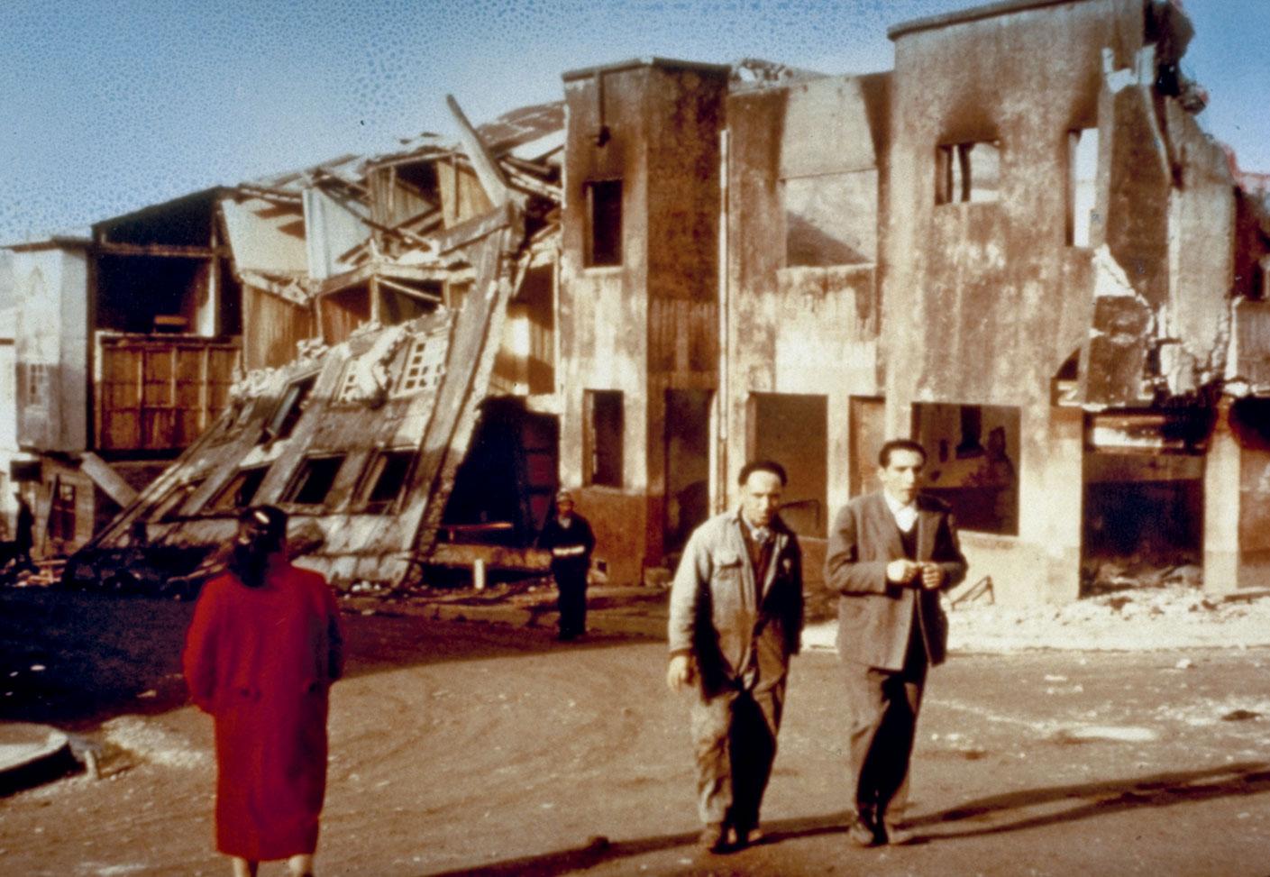 Grande Terremoto del Cile - Castro, Chiloé Island