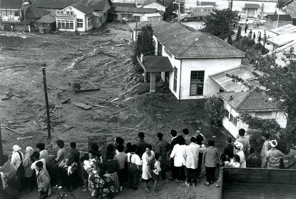 Grande terremoto del Cile -Tsunami in Giappone