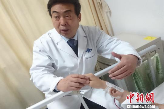Cellule staminali orecchio ricresce sul braccio guo shuzhong