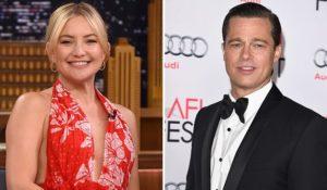 Brad Pitt e Kate Hudson stanno insieme. Il rumor arriva dall'Australia