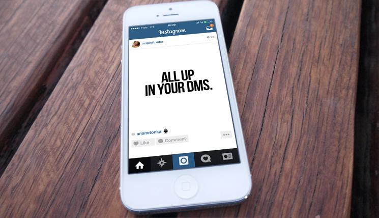Instagram screenshot ai dm che si cancellano