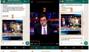 Whatsapp testa lo streaming dei video all'interno della sua chat