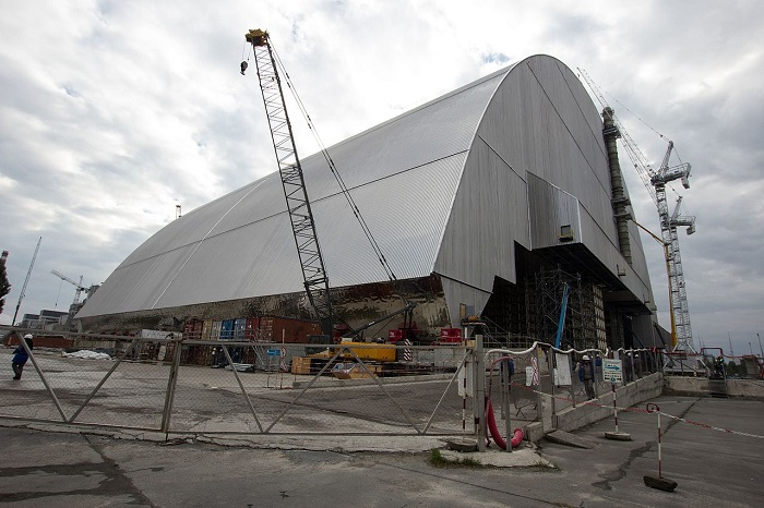 nuovo sarcofago di chernobyl