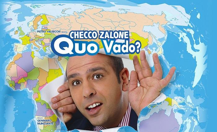 Ascolti Tv 8 gennaio vince Quo vado? con il 24,98%