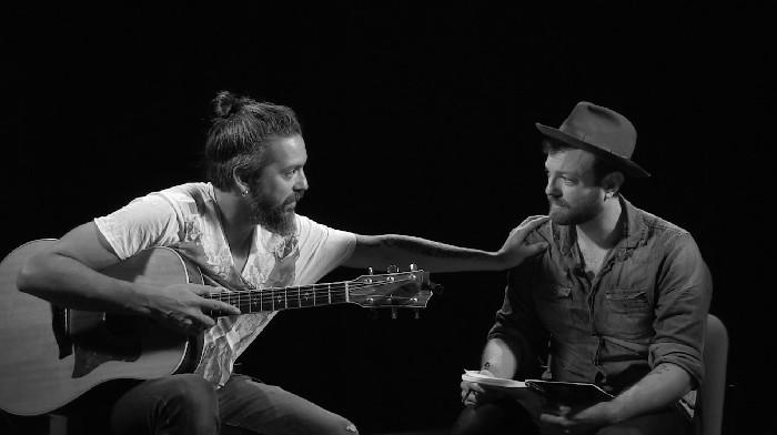 Bob Angelini e Francesco Forni nell'ultima puntata della prima stagione di Kahbum