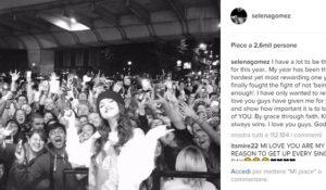 Selena Gomez torna su Instagram nel Giorno del Ringraziamento