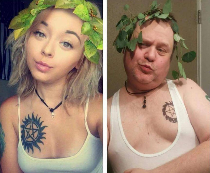 selfie-figlia