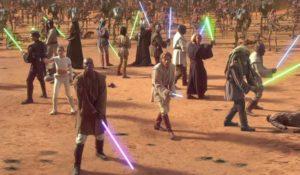 Star Wars, su TV8 la guerra stellare inizia con l'Attacco dei Cloni
