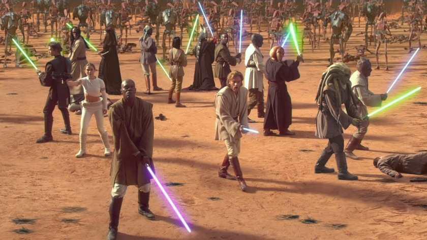 star wars Attacco-dei-cloni