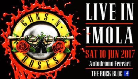 Guns N'Roses a Imola
