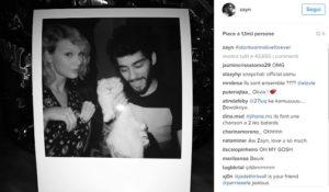 Taylor Swift e Zayn Malik coppia inedita per Cinquanta sfumature di nero