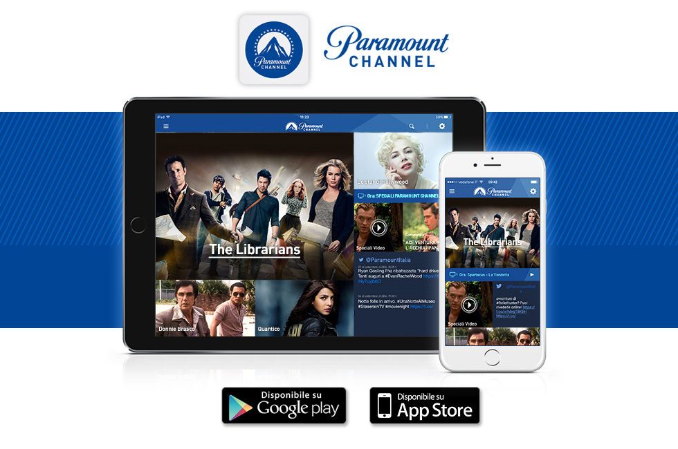 app di paramount channel