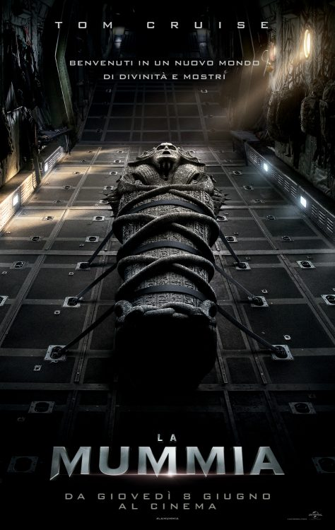 tom cruise nel reboot de la mummia