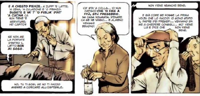 Eduardo De Filippo diventa fumetto
