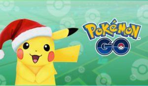 Pokémon GO, disponibili nuovi Pokémon. Evento speciale di Natale con Pikachu
