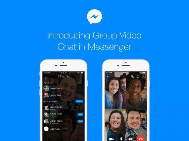 videochiamate di gruppo su messanger