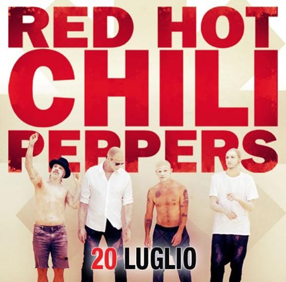 biglietti red hot chili peppers