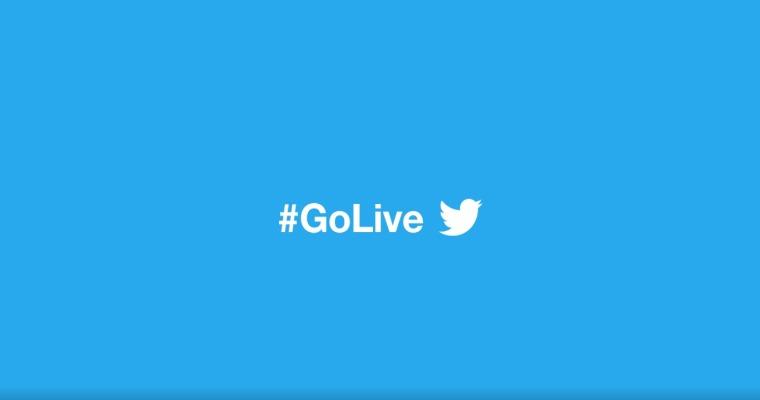 twitter lancia go live