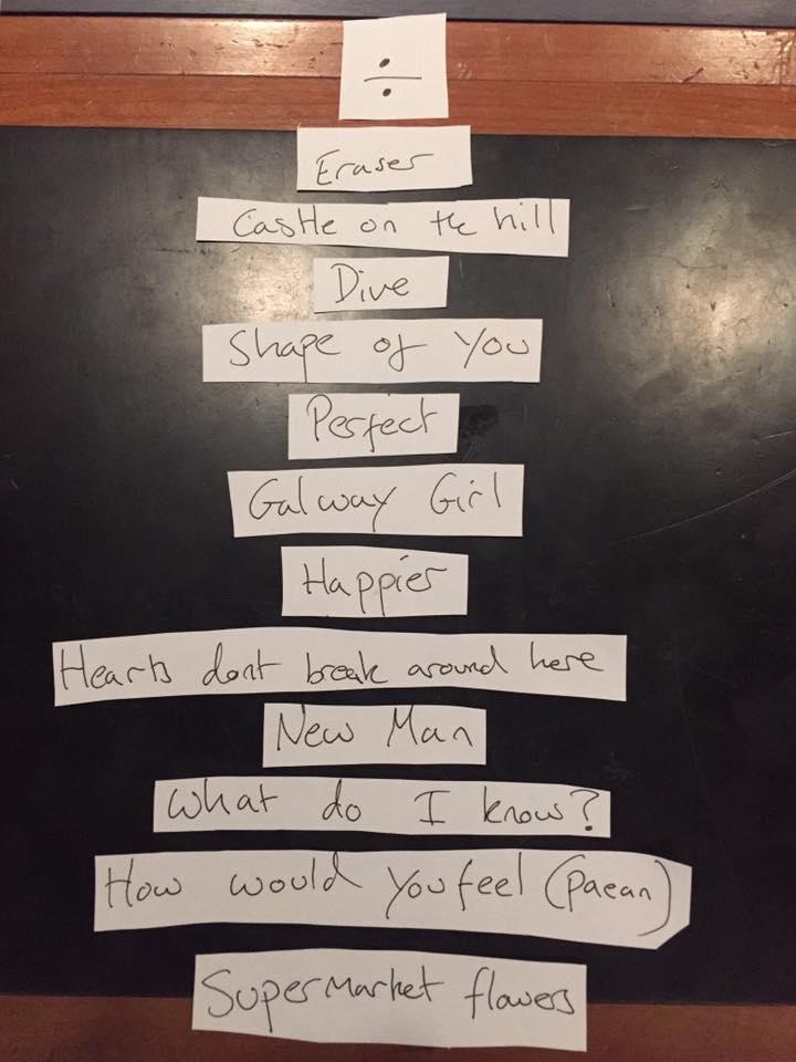 nuovo album di ed sheeran