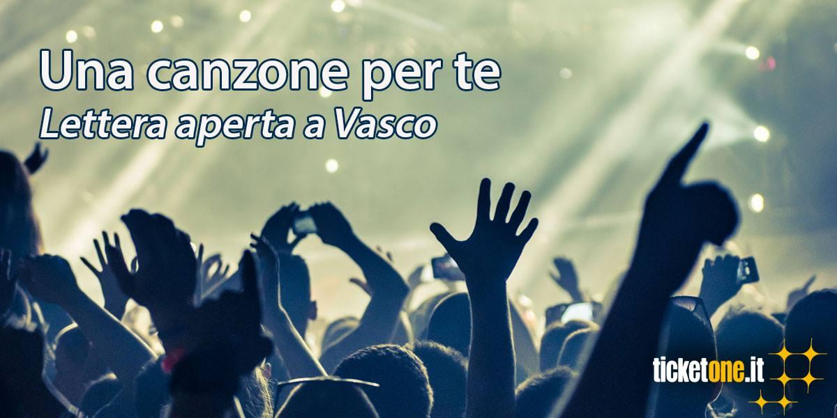 lettera di TicketOne a Vasco Rossi