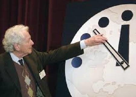 Fine del mondo Doomsday Clock