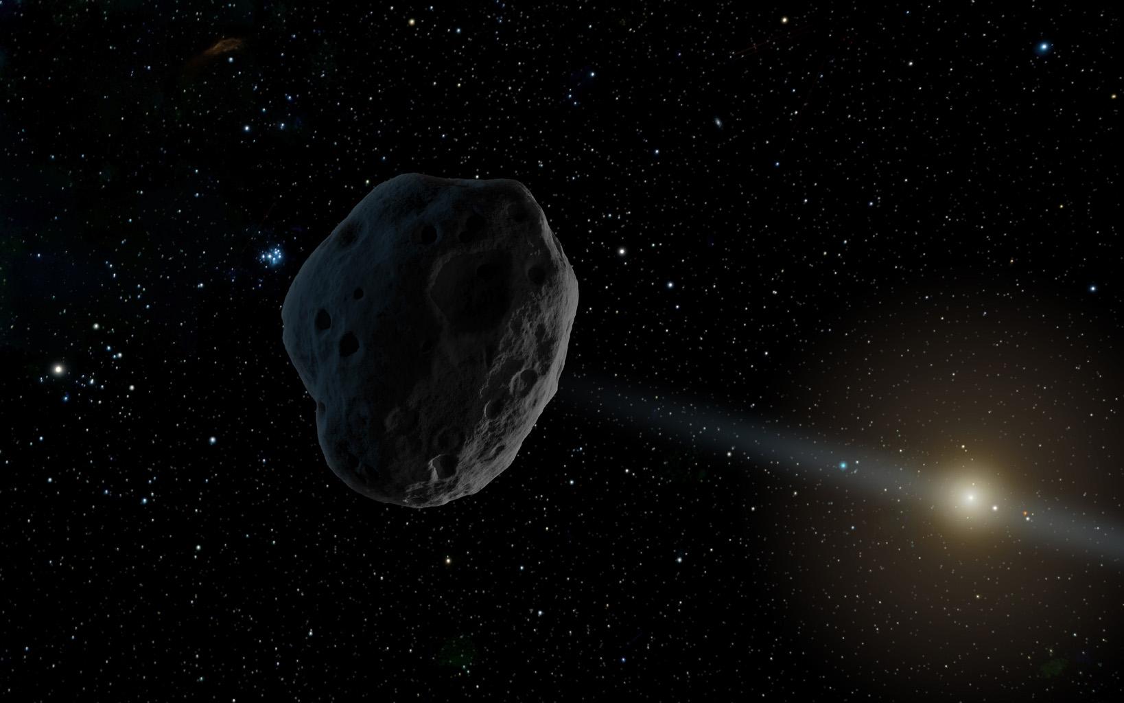 2016 WF9 asteroide o cometa