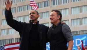 Bruce Springsteen canta per Barack Obama. Un concerto segreto prima dell'addio
