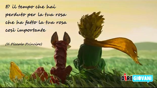 Il piccolo principe le frasi pi belle - La rosa racconta la vita dei divi ...