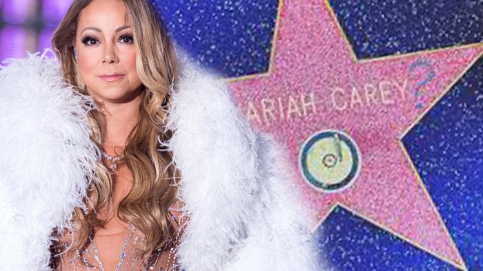 vandalizzata la stella di Mariah Carey