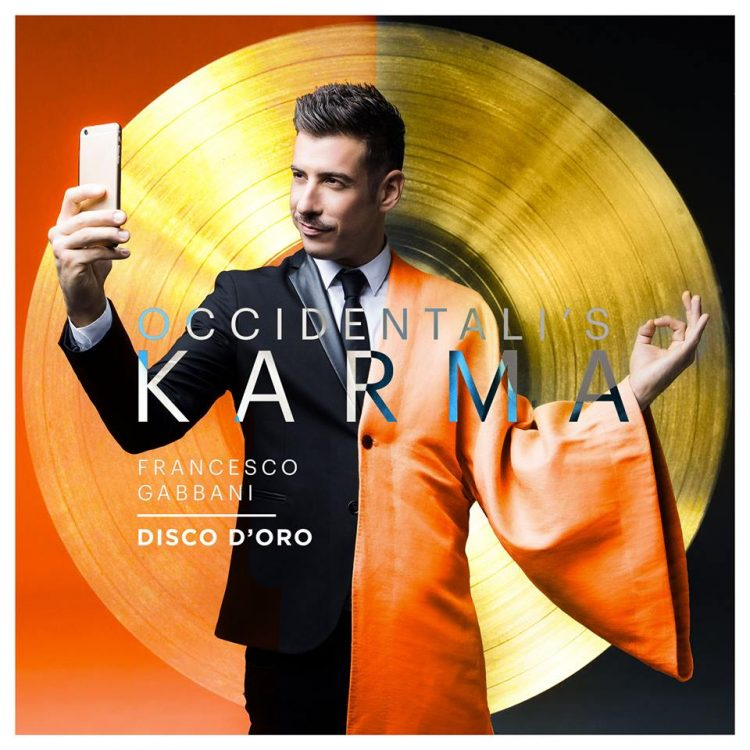 francesco gabbani disco d'oro