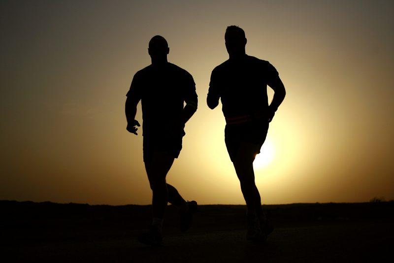 Fare jogging in gruppo in Burundi