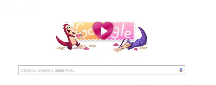 doodle di san valentino