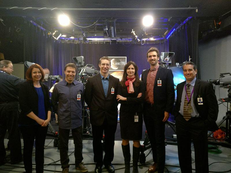 CONFERENZA NASA - Scoperti sette esopianeti abitabili