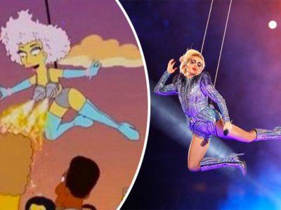 I Simpson ci azzeccano ancora con la predizione di Lady Gaga al Super Bowl