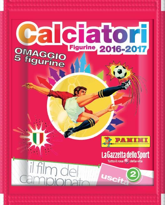 panini calciatori 2016-2017