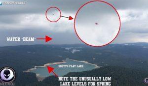 """Algeria, il video dell'UFO che """"aspira"""" l'acqua fa il giro del mondo. La smentita del C.UFO.M"""