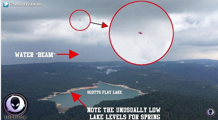 video dell'ufo