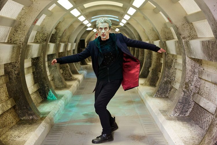 peter capaldi lascia doctor who