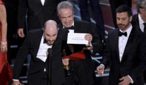 L'errore agli Oscar 2017. Trovato il colpevole dello scambio di buste
