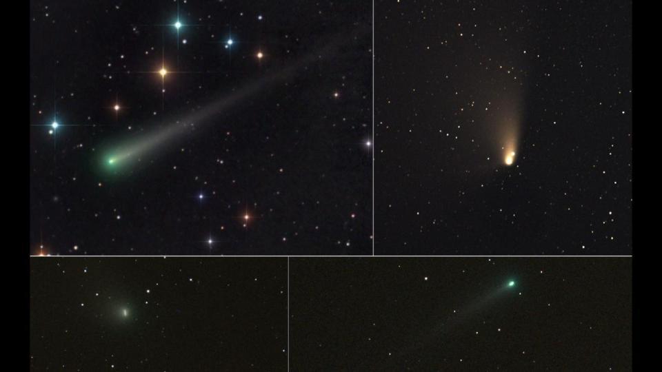 cometa 45P/Honda-Mrkos-Pajdušáková