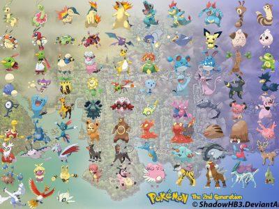 Pokémon GO, dove trovare i Pokémon di seconda generazione