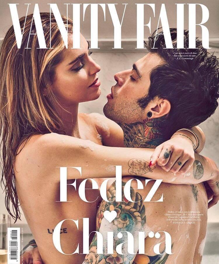 Fedez e Chiara Ferragni su Vanity Fair