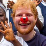 Ed Sheeran in aiuto dei bambini africani