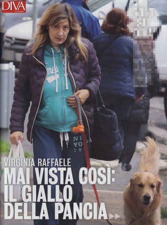 Virginia Raffaele senza trucco su Diva & Donna