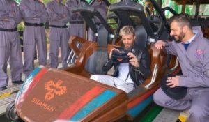 Andrea Iannone collaudatore d'eccezione per SHAMAN, la novità 2017 di Gardaland