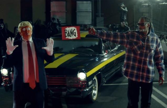 Snoop Dogg spara a trump